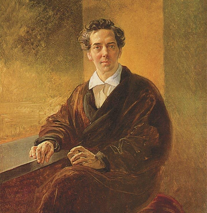 К.П. Брюллов. Портрет графа А.А. Перовского (писателя Антония Погорельского). 1836 год