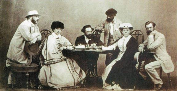 А.К. Толстой в кругу родственников и знакомых, Санкт-Петербург, 1867-1868